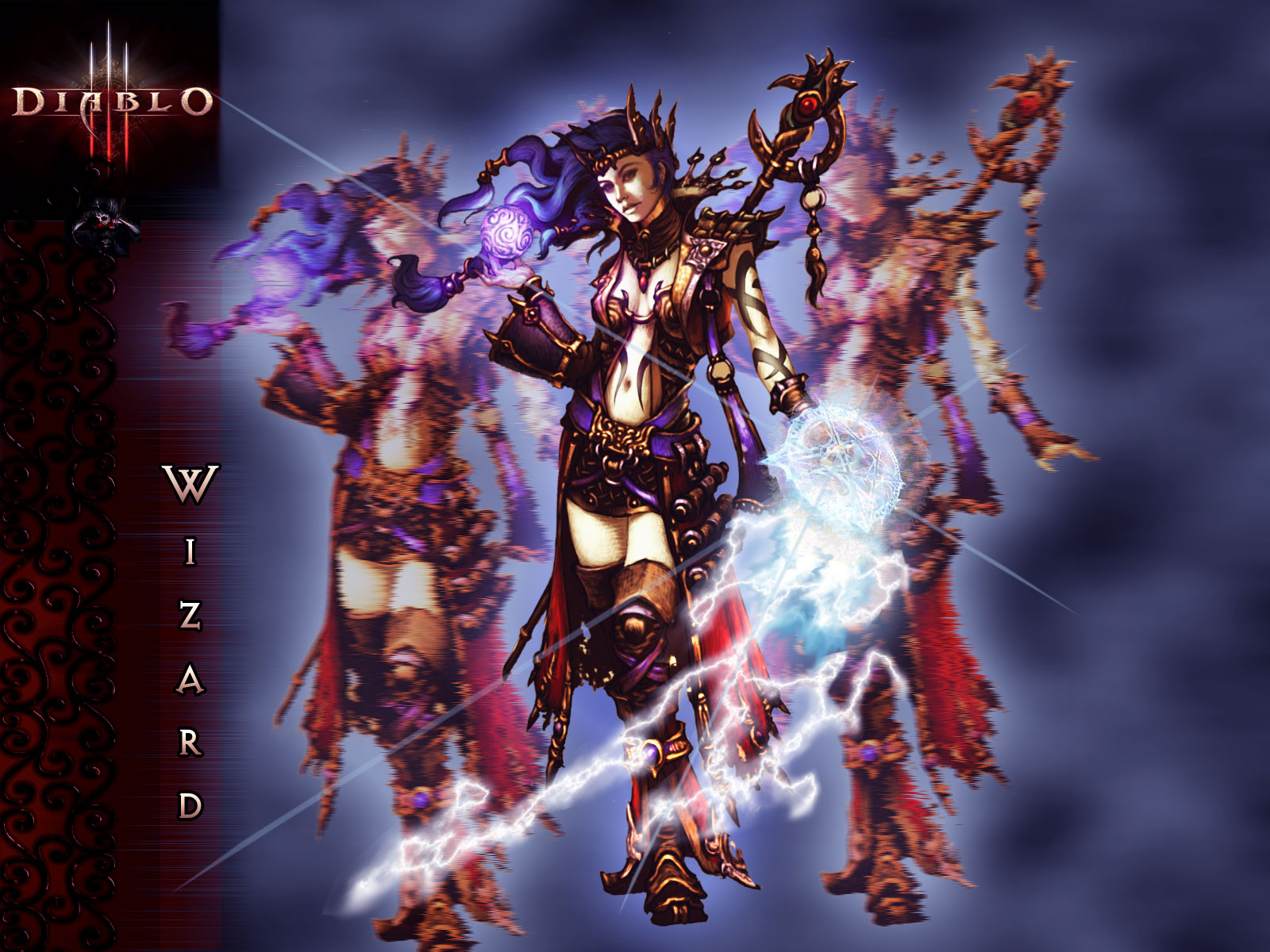 Diablo 3 wizard female naked anime image