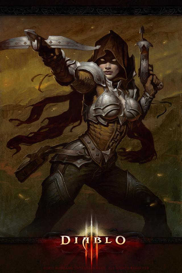 Diablo 3: Охотник на демонов – Обои для рабочего стола ...