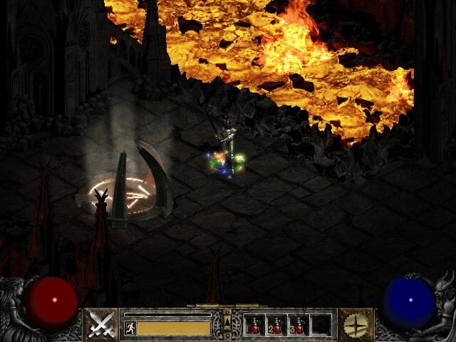 Diablo 2 - Карта 4 акта (Map Act IV): http://www.diablo1.ru/diablo2game/map-act-4.php