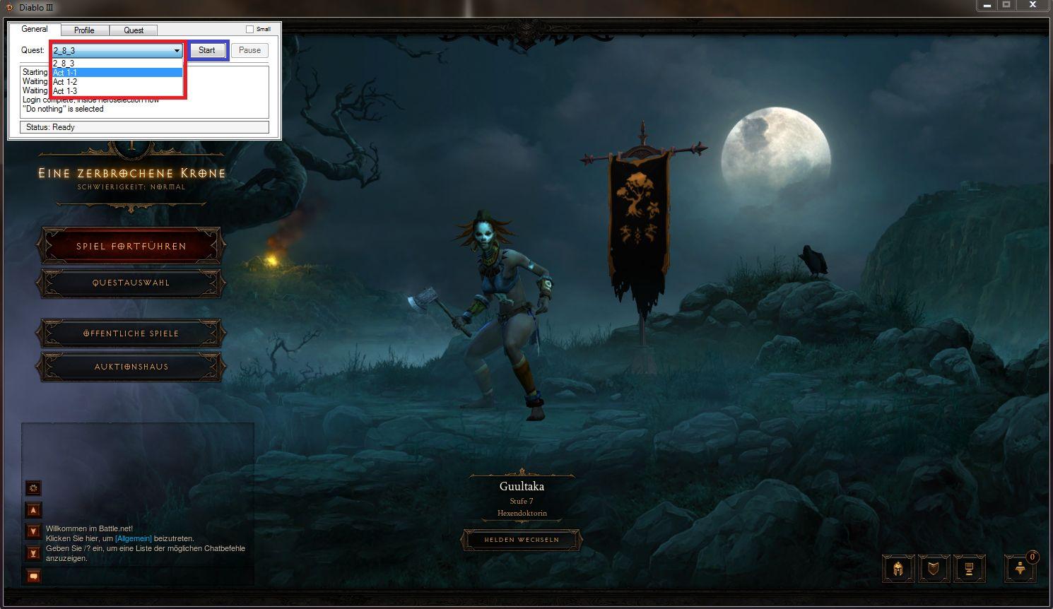 Скачать Крякнутый Diablo 3