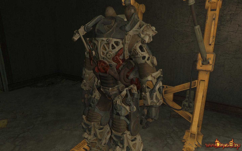 Fallout как научиться носить силовую броню