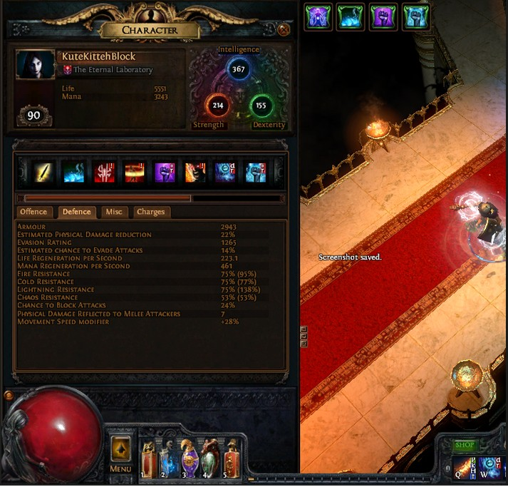 Poe Witch Incinerate Build