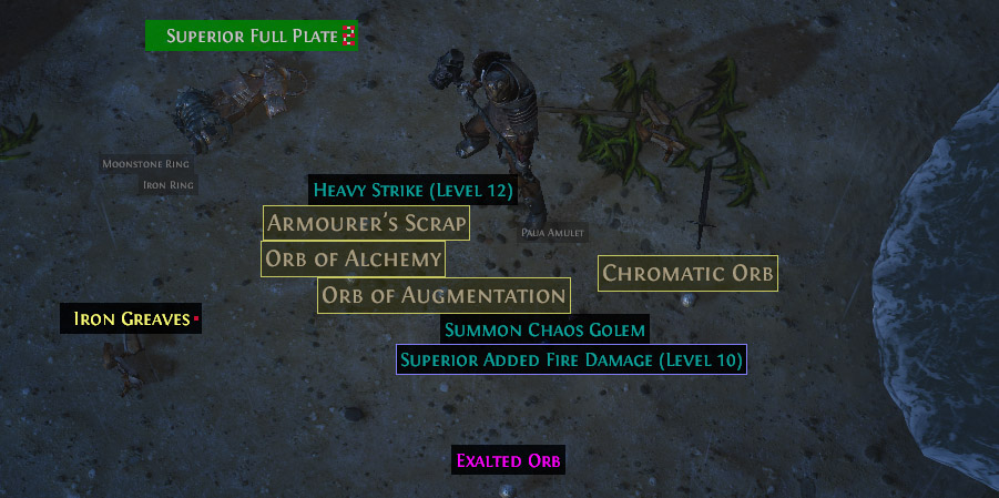 poe how to change loot filter