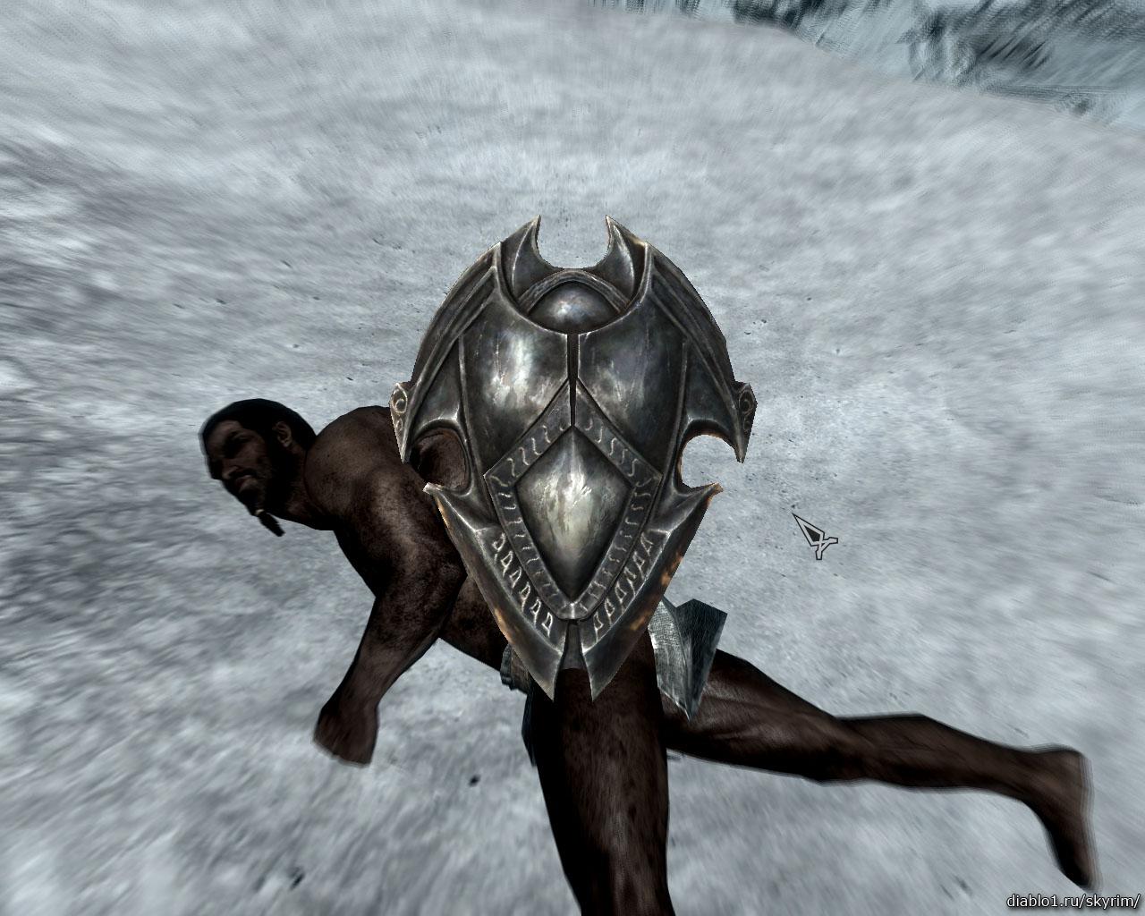 Skyrim the ebony warrior