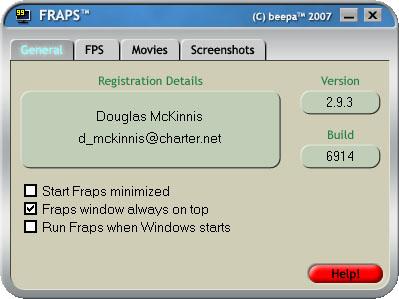 Skyrim - делаем скриншоты с помощью Fraps