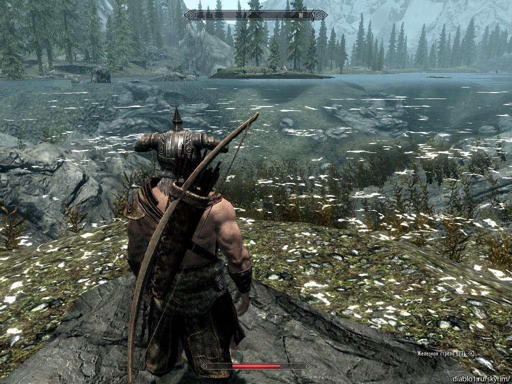Skyrim как сделать стремительный рывок