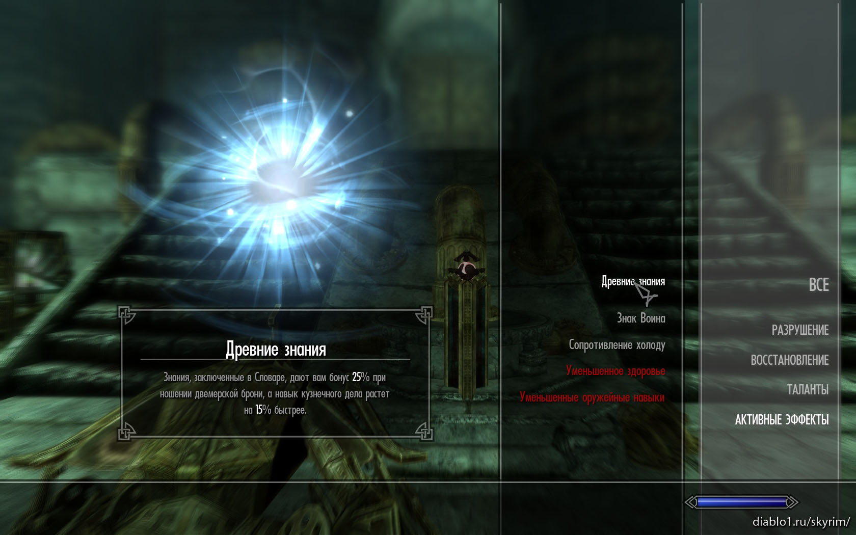 Легендарный навык The Elder Scrolls Wiki FANDOM powered by 30