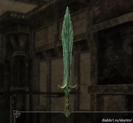 Как сделать стеклянный меч