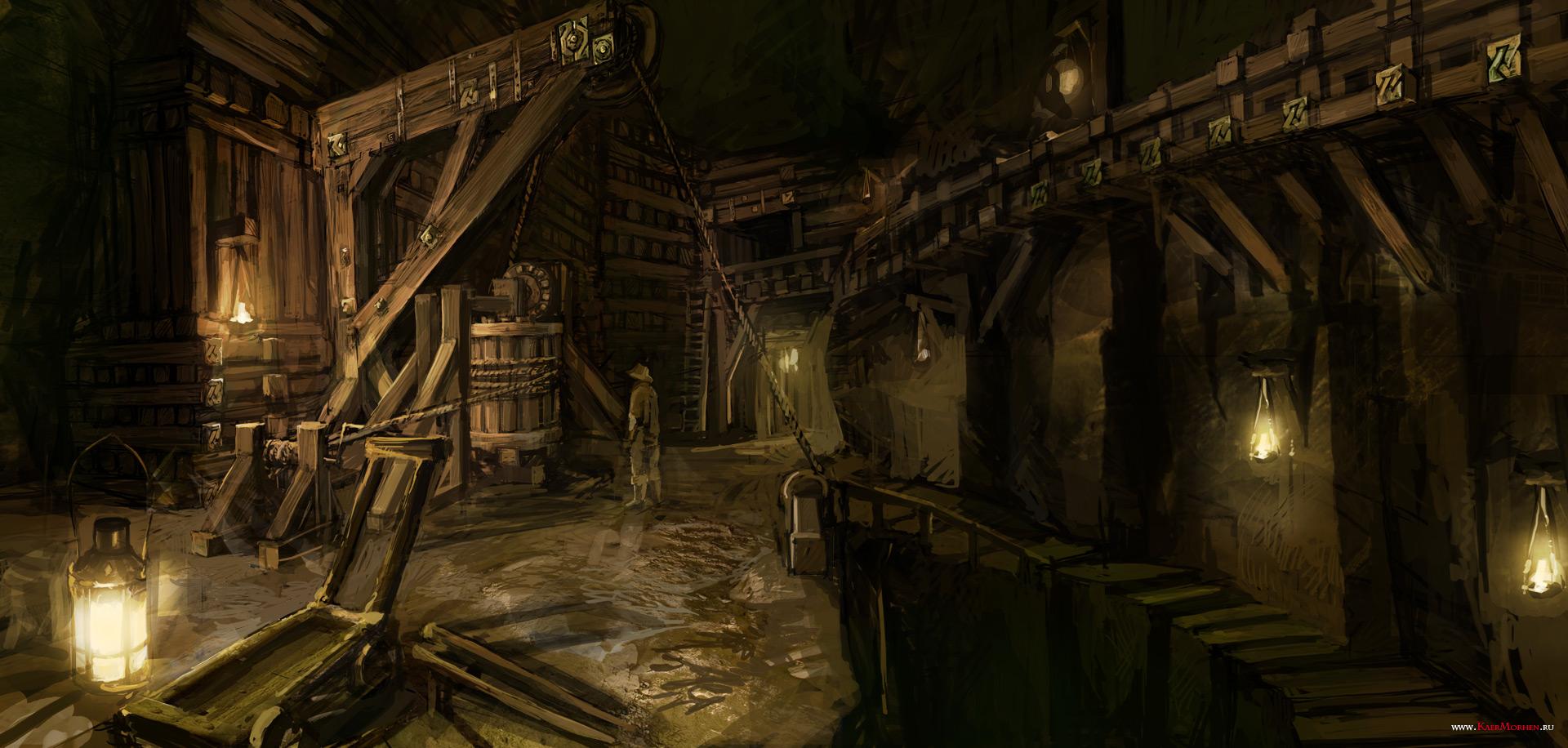 Witcher  Auction House Paintings