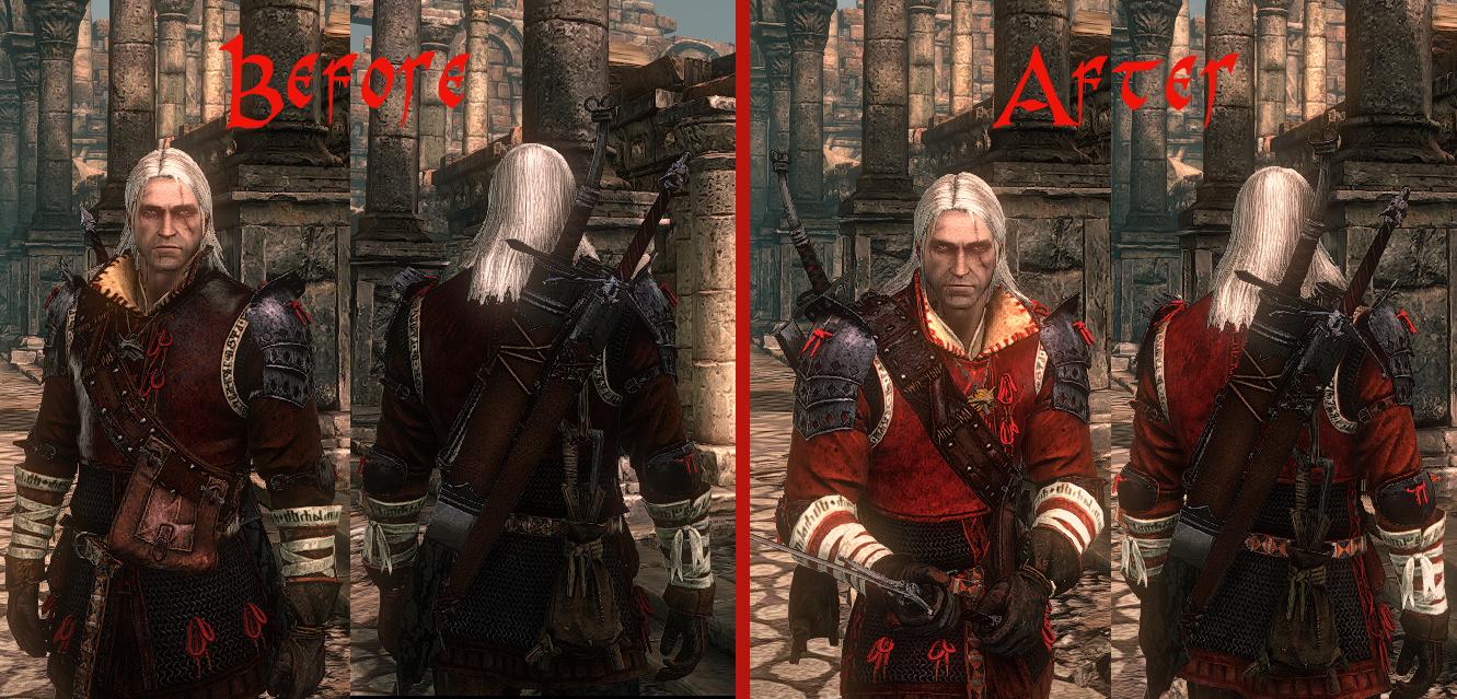 Моды для Witcher 2