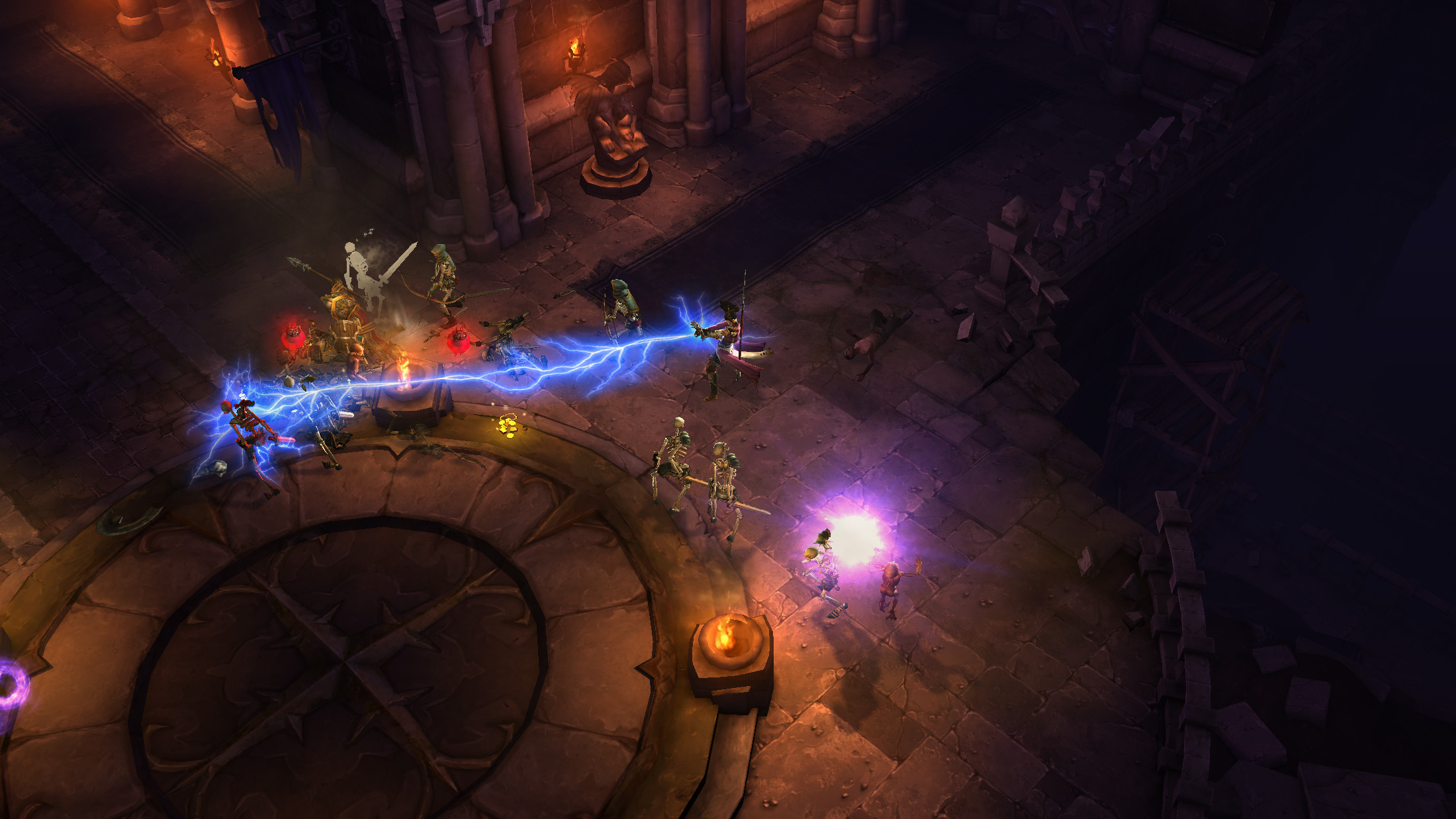 an overview of the game diablo A: the diablo iii necromancer is a reimagining of the classic diablo ii class while not all of the diablo ii class skills will be returning, we drew a lot of inspiration from the previous version of the necromancer and have taken the diablo iii version in a direction we hope you'll love.